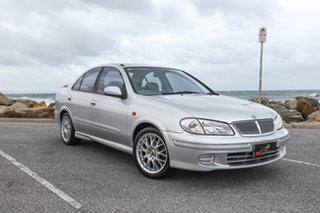 2001 Nissan Pulsar N16 ST Silver 4 Speed Automatic Sedan.