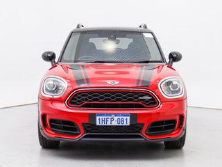 2017 Mini Countryman F60 MY17 John Cooper Works ALL4 Chilli Red 8 Speed Automatic Steptronic Wagon.