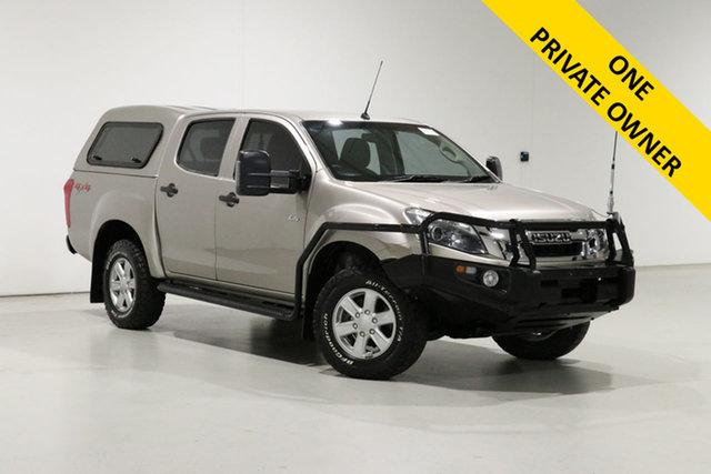 Used Isuzu D-MAX TF MY15 LS-M HI-Ride (4x4) Bentley, 2015 Isuzu D-MAX TF MY15 LS-M HI-Ride (4x4) Gold 5 Speed Manual Crew Cab Utility