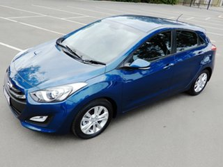 2014 Hyundai i30 GD2 MY14 Trophy Midnight Blue 6 Speed Sports Automatic Hatchback
