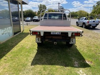 2014 Mazda BT-50 XT Freestyle (4x4) Cool White 6 Speed Manual Cab Chassis
