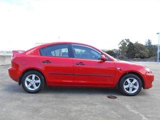 2006 Mazda 3 BK10F1 Maxx Red 4 Speed Sports Automatic Sedan