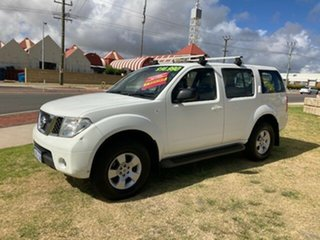 2008 Nissan Pathfinder R51 MY08 ST White 5 Speed Sports Automatic Wagon