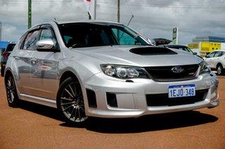 2011 Subaru Impreza G3 MY11 WRX AWD Silver 5 Speed Manual Hatchback.