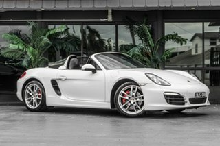 2012 Porsche Boxster 981 S PDK White 7 Speed Sports Automatic Dual Clutch Convertible.