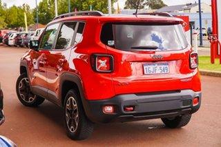 2016 Jeep Renegade BU MY16 Trailhawk AWD Red 9 Speed Sports Automatic Hatchback.