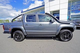 2018 Volkswagen Amarok 2H MY18 TDI550 4MOTION Perm Highline Grey 8 Speed Automatic Utility