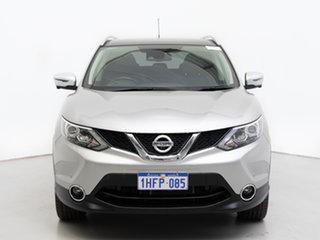 2016 Nissan Qashqai J11 TI Silver Continuous Variable Wagon.