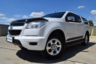 2014 Holden Colorado RG MY14 LTZ Crew Cab Summit White 6 Speed Sports Automatic Utility