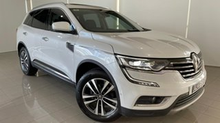 2017 Renault Koleos HZG Intens X-tronic White 1 Speed Constant Variable Wagon.