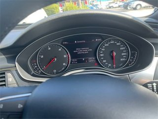 2013 Audi A6 4G Red 1 Speed Constant Variable Sedan