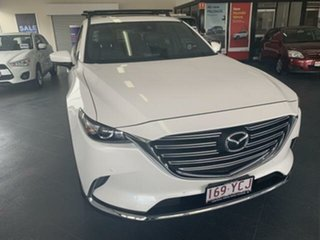 2018 Mazda CX-9 MY18 GT (AWD) White 6 Speed Automatic Wagon.