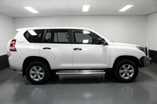 2016 Toyota Landcruiser Prado GDJ150R GX White 6 Speed Sports Automatic Wagon