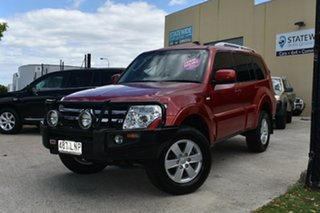 2008 Mitsubishi Pajero NS GLX LWB (4x4) Red 5 Speed Auto Sports Mode Wagon.