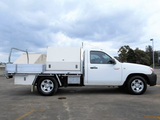 2009 Mazda BT-50 UNY0W4 DX 4x2 White 5 Speed Manual Cab Chassis