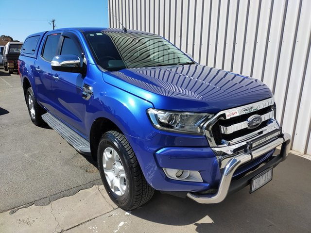 Used Ford Ranger PX MkIII 2019.00MY XLT Horsham, 2019 Ford Ranger PX MkIII 2019.00MY XLT 6 Speed Manual Double Cab Pick Up