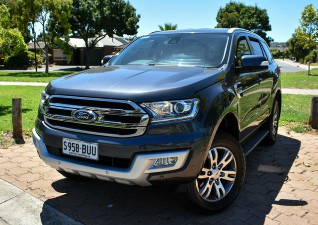 Used Ford Everest UA Trend Ingle Farm, 2017 Ford Everest UA Trend Grey 6 Speed Sports Automatic SUV