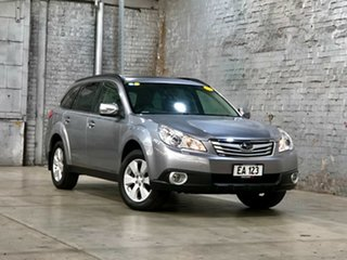 2009 Subaru Outback B5A MY10 3.6R AWD Premium Silver 5 Speed Sports Automatic Wagon.