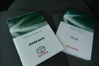 2012 Toyota Hilux KUN26R MY12 SR5 Double Cab Black 4 Speed Automatic Utility