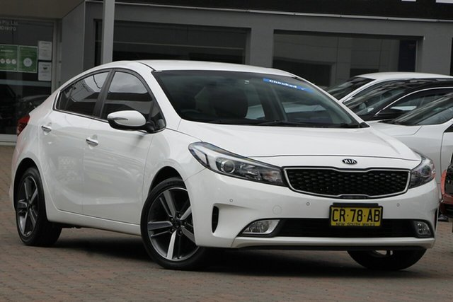 Used Kia Cerato YD MY18 Sport+ Parramatta, 2018 Kia Cerato YD MY18 Sport+ White 6 Speed Sports Automatic Sedan