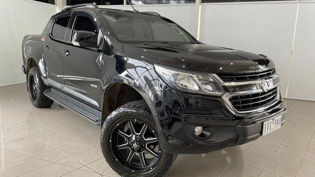 Used Holden Colorado RG MY17 Z71 Pickup Crew Cab Deer Park, 2017 Holden Colorado RG MY17 Z71 Pickup Crew Cab Black 6 Speed Sports Automatic Utility
