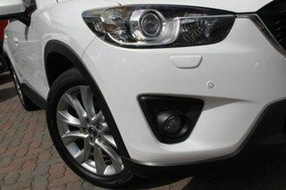 2013 Mazda CX-5 KE1031 MY13 Grand Touring SKYACTIV-Drive AWD White 6 Speed Sports Automatic Wagon.