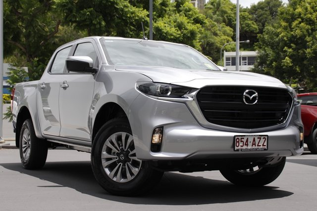 Demo Mazda BT-50 TFS40J XT Newstead, 2020 Mazda BT-50 TFS40J XT Ingot Silver 6 Speed Sports Automatic Utility