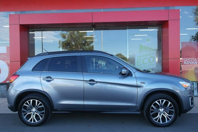 Pre-Owned Mitsubishi ASX XB MY15.5 XLS 2WD Swan Hill, 2015 Mitsubishi ASX XB MY15.5 XLS 2WD Silver 6 Speed Constant Variable Wagon