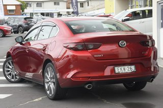 2020 Mazda 3 BP2SLA G25 SKYACTIV-Drive GT Red 6 Speed Sports Automatic Sedan.