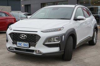 2018 Hyundai Kona OS MY18 Elite D-CT AWD Chalk White 7 Speed Sports Automatic Dual Clutch Wagon