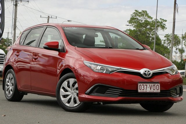 Used Toyota Corolla ZRE182R Ascent S-CVT Rocklea, 2015 Toyota Corolla ZRE182R Ascent S-CVT Wildfire 7 Speed Constant Variable Hatchback
