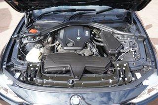 2016 BMW 320d F30 LCI Sport Line Black 8 Speed Automatic Sedan