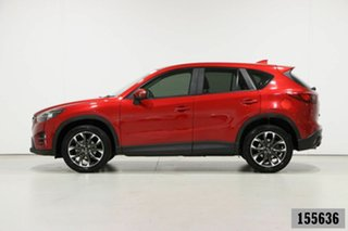 2017 Mazda CX-5 MY17 GT (4x4) Red 6 Speed Automatic Wagon