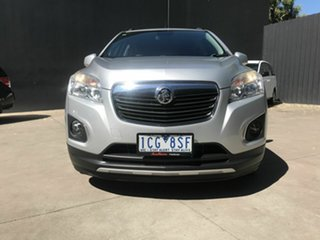 2014 Holden Trax TJ LTZ Silver 6 Speed Automatic Wagon