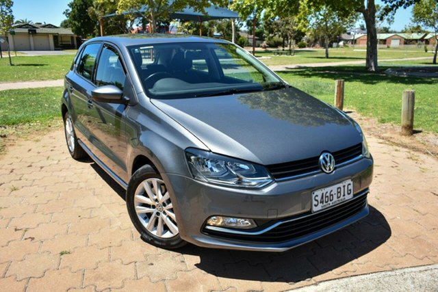 Used Volkswagen Polo 6R MY16 81TSI DSG Comfortline Ingle Farm, 2016 Volkswagen Polo 6R MY16 81TSI DSG Comfortline Grey 7 Speed Sports Automatic Dual Clutch