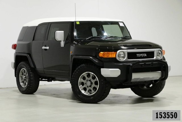 Used Toyota FJ Cruiser GSJ15R MY14 Bentley, 2015 Toyota FJ Cruiser GSJ15R MY14 Black 5 Speed Automatic Wagon