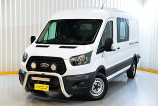 2017 Ford Transit VO MY17.75 350L (LWB) FWD Mid Roof White 6 Speed Automatic Van.