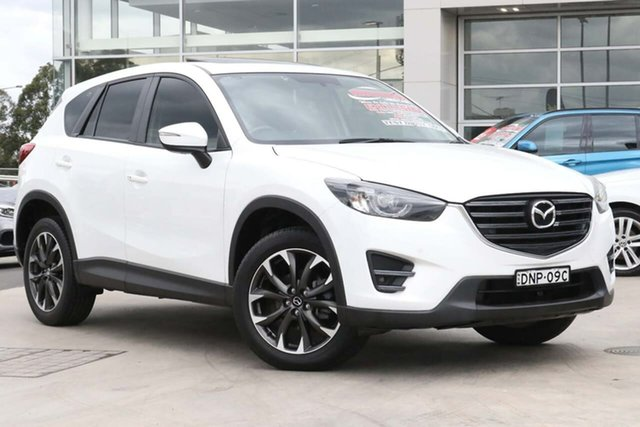 Used Mazda CX-5 KE1032 Grand Touring SKYACTIV-Drive AWD Liverpool, 2016 Mazda CX-5 KE1032 Grand Touring SKYACTIV-Drive AWD White 6 Speed Sports Automatic Wagon