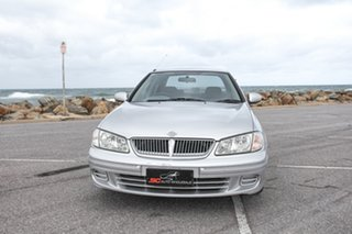 2001 Nissan Pulsar N16 ST Silver 4 Speed Automatic Sedan