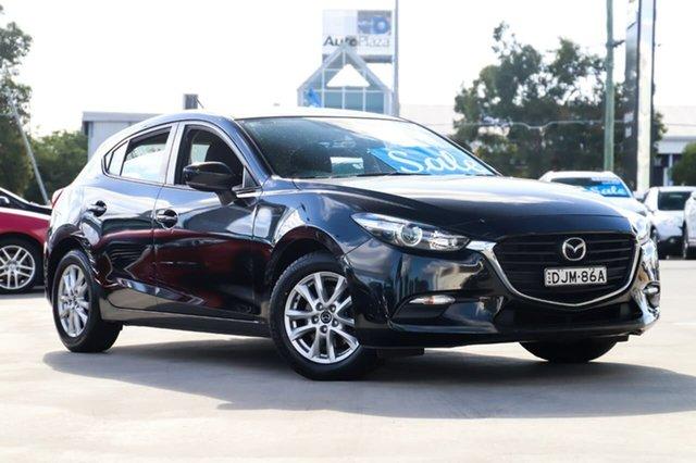 Used Mazda 3 BM5478 Neo SKYACTIV-Drive Kirrawee, 2016 Mazda 3 BM5478 Neo SKYACTIV-Drive Black 6 Speed Sports Automatic Hatchback
