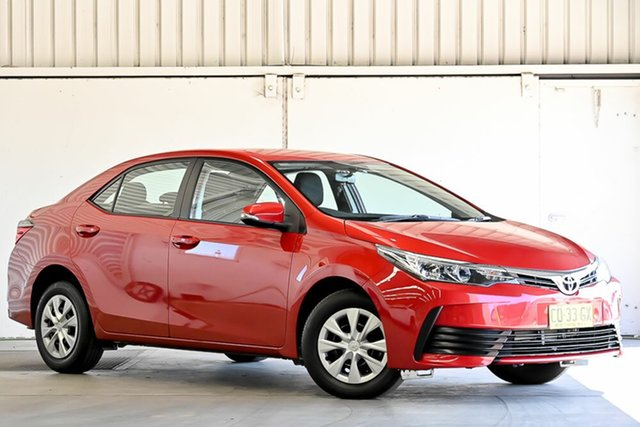 Used Toyota Corolla ZRE172R Ascent S-CVT Laverton North, 2017 Toyota Corolla ZRE172R Ascent S-CVT Wildfire 7 Speed Constant Variable Sedan