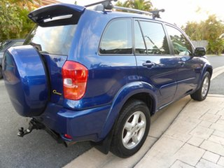 2000 Toyota RAV4 ACA21R Cruiser (4x4) Blue 4 Speed Automatic 4x4 Wagon
