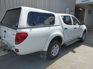 2012 Mitsubishi Triton MN MY12 GLX Double Cab 5 Speed Manual Utility