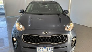 2016 Kia Sportage QL MY17 SLi 2WD Blue 6 Speed Sports Automatic Wagon