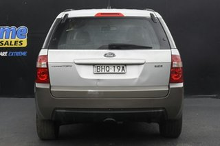 2005 Ford Territory SX TS Silver 4 Speed Sports Automatic Wagon
