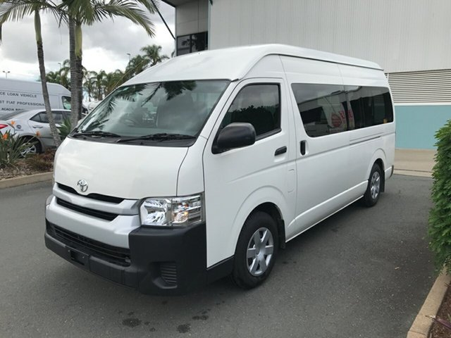 Used Toyota HiAce TRH223R Commuter High Roof Super LWB Acacia Ridge, 2016 Toyota HiAce TRH223R Commuter High Roof Super LWB French Vanilla 6 speed Automatic Bus