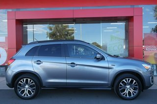 2015 Mitsubishi ASX XB MY15.5 XLS 2WD Silver 6 Speed Constant Variable Wagon.