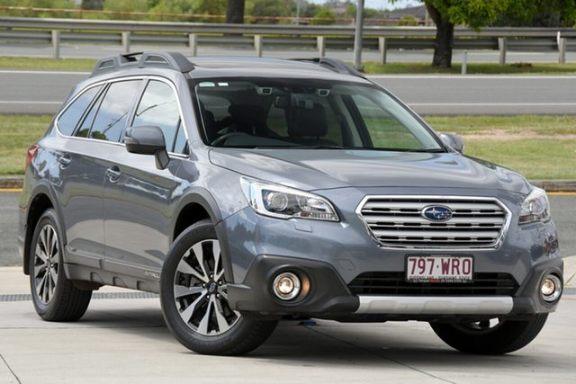 Used Subaru Outback B6A MY16 2.5i CVT AWD Premium North Lakes, 2016 Subaru Outback B6A MY16 2.5i CVT AWD Premium Grey 6 Speed Constant Variable Wagon