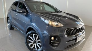 2016 Kia Sportage QL MY17 SLi 2WD Blue 6 Speed Sports Automatic Wagon.