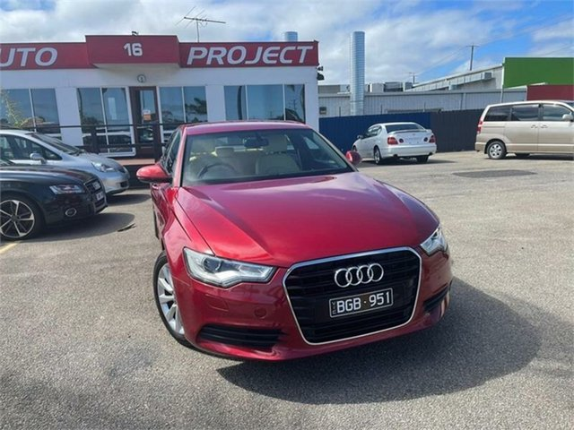 Used Audi A6 4G Cheltenham, 2013 Audi A6 4G Red 1 Speed Constant Variable Sedan